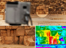 4500 years ancient secret will be revealed by the Thermal Scan of Egypt Pyramids