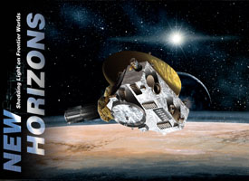 NASA New Horizons first probe close encounter frozen distant Pluto