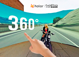 GoPro turns action videos to new extremes - 360-degree virtual reality