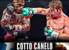 Miguel Cotto vs Saul Canelo Alvarez Puerto Rico vs Mexico boxing clash Felix Trinidad Golden boy Prediction Boxing Middleweight Title Showdown
