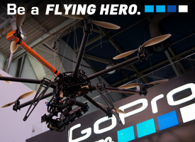 GoPro start manufacturing their own line extreme drones GoDron