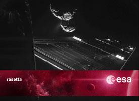 ESA Rosetta Philae lander rendezvous with a comet 67P Churyumov-Gerasimenko