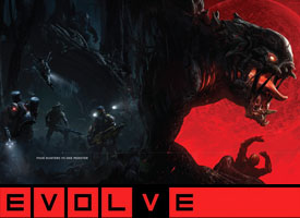 Evolve PS4 XBOX PC game Hunters Assault Medic Trapper Support Monsters Goliath Kraken Behemoth