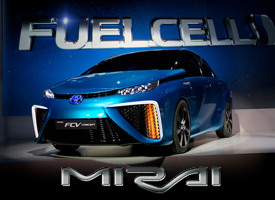 Toyota Mirai The Best Selling Hydrogen Fuel-Cell Vehicle in the World