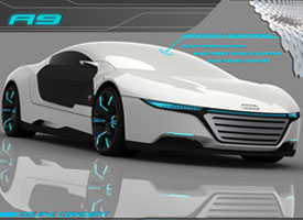 The birth of AUDI future kind - A9