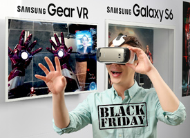 Samsung Galaxy VR Black Friday Galaxy Note 5 S6 S6 Edge S6 Edge+ virtual reality mainstream for everyone