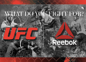 Reebok outfitting policy eliminates other sponsors in ufc mma octagon