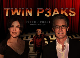 David Lynch TWIN PEAKS SEASON 3 2016 kyle maclachlan sherilyn fenn