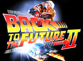 Back to the Future 2 Marty McFly Emmett doc Brown arrive in 2015