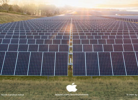 California Flats Solar Project starts delivering of 130MW clean power to Apple data centers